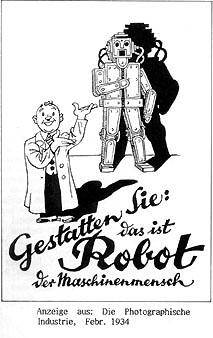 werbung roboter